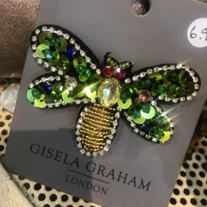 Gisela Graham Dragonfly Brooch