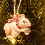 Mouse Christmas Tree Decoration