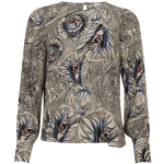 Blouse with Garden Print