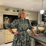 Rosie Sinea Dress in Moss