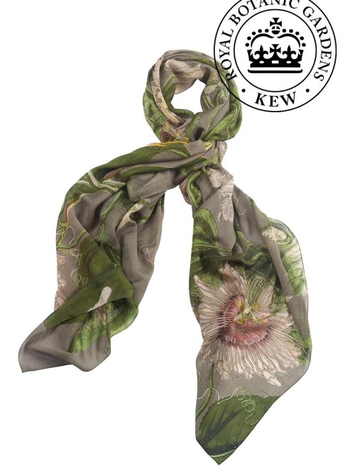 Passion Flower Stone Scarf