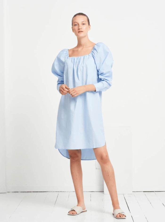 Rosie Julise Dress in Sky Blue
