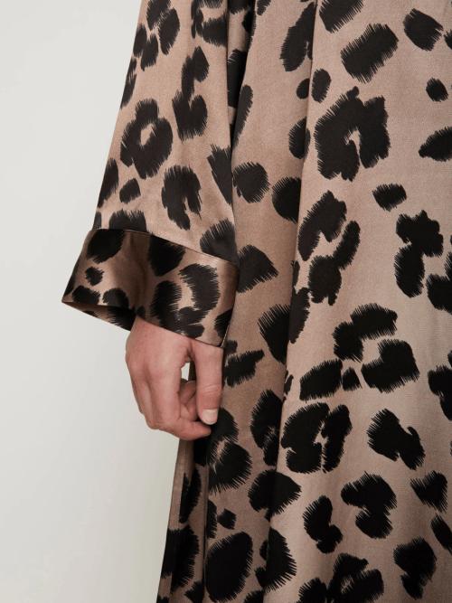 Laguna Dress in Leopard Print