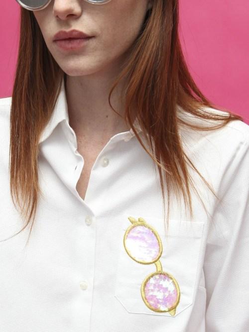 Isabella Shirt in White