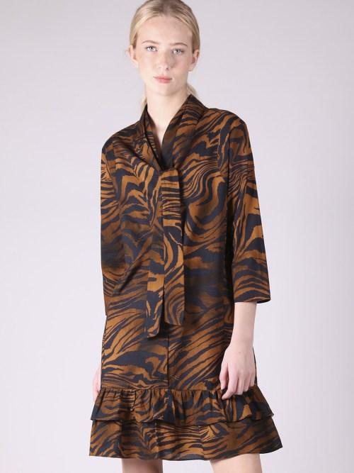 Midi Dress in Bengala Print