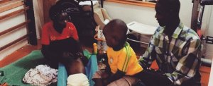 Africa: watching over the little children