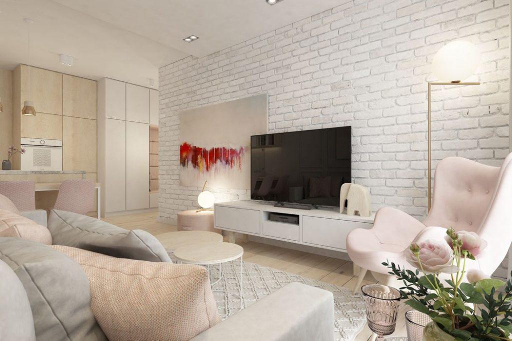 brique au mur rouge blanche ou grise