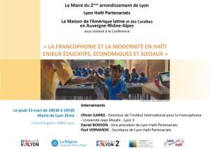 Invitation francophonie