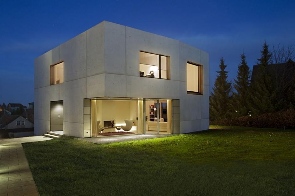 La Maison Cube, Une Maison Moderne Assez Originale, Maison