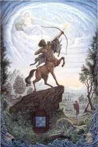 Signe du zodiaque Sagittaire, Johfra Bosschart