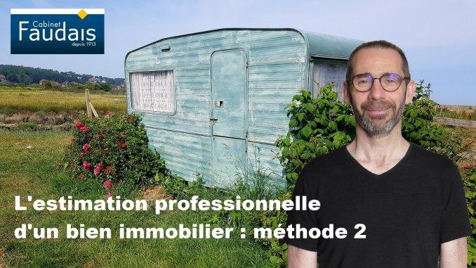 estimation immobilière méthode 2
