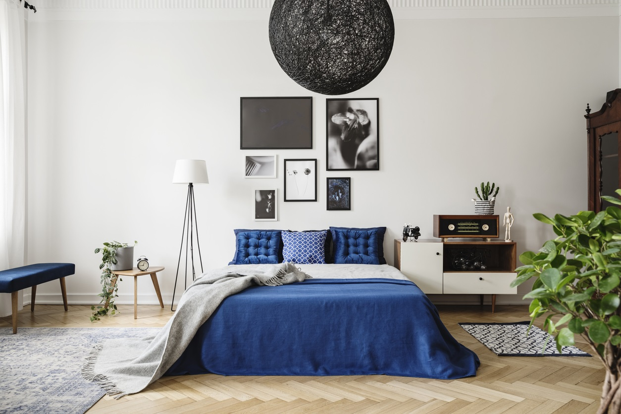chambre bleue 30 idees deco tendance et inspirantes