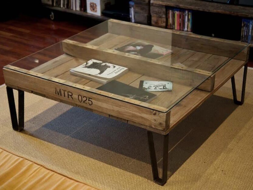 table basse 10 modeles en palettes a