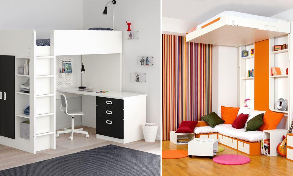 Lit Mezzanine Avec Rangement 12 Modeles Pratiques Et Design