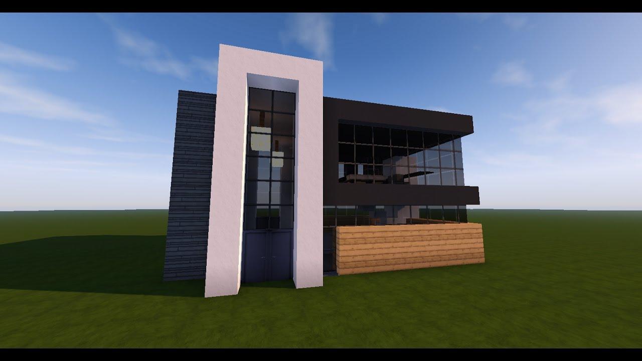 Maison Moderne Dans Minecraft Maison Moderne