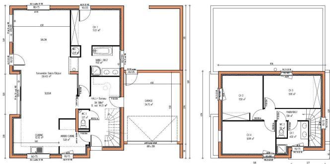 Photos Plan Maison 180 M2 Plain Pied Maison Idee Full Version Hd Quality Maison Idee Estimation Maison Mornegommier Fr