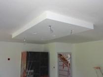 Cuisine quip e faux plafond au dessus de l lot la for Eclairage faux plafond cuisine