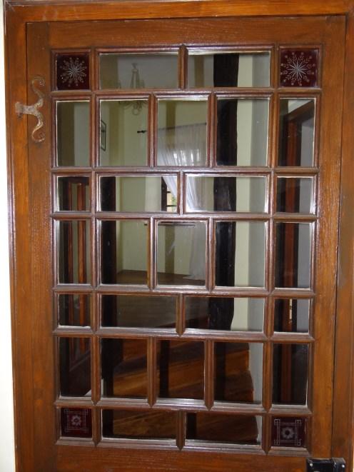 32 - Period door with its original glass