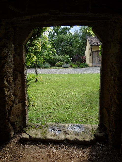 34 - View from inside the outbuildings