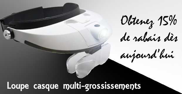 Loupe Casque