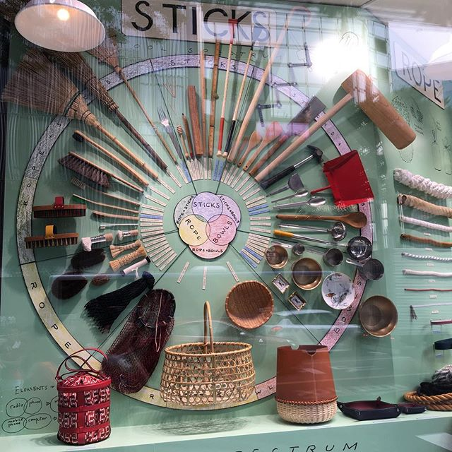 It's all about craft - Hermes window in Ginza Tokyo