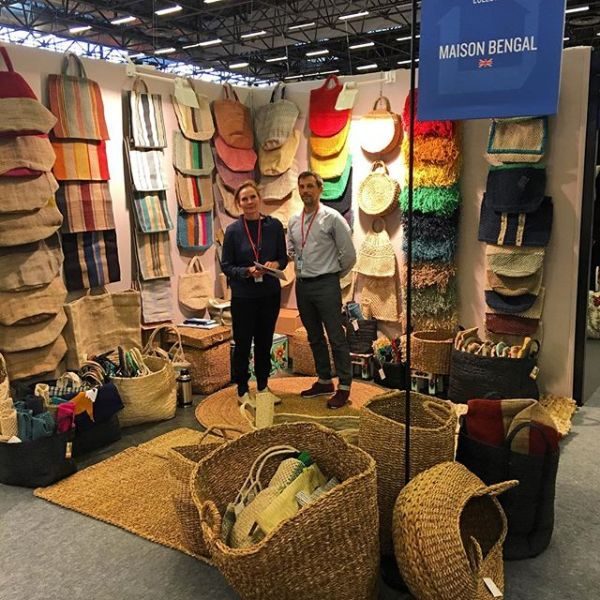And we're off! Maison et Objet Hall 1 stand D90 – looking forward to seeing all our regular customers and meeting new ones