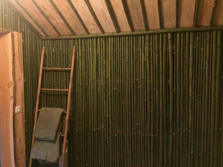 Cabane des bambous we en amoureux au chaud