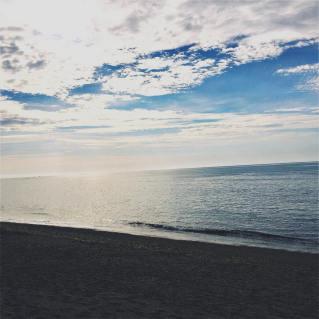 Depuis la plage de Saint-Jean de Luz