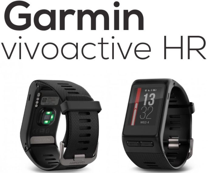Garmin VivoActive HR montre de sport intelligente