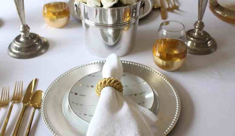 Valentine's Day Table: A Sweet & Simple Version