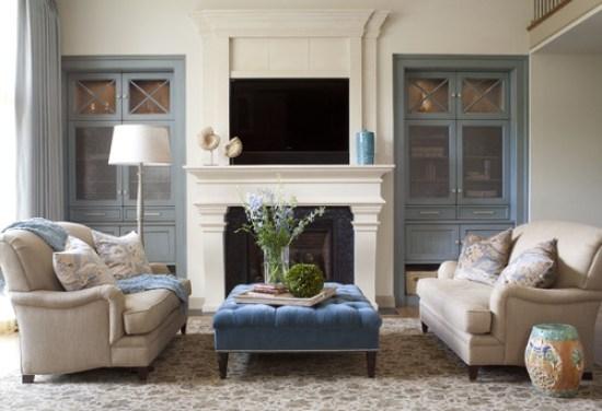 blue-velvet-ottoman-coffee-table