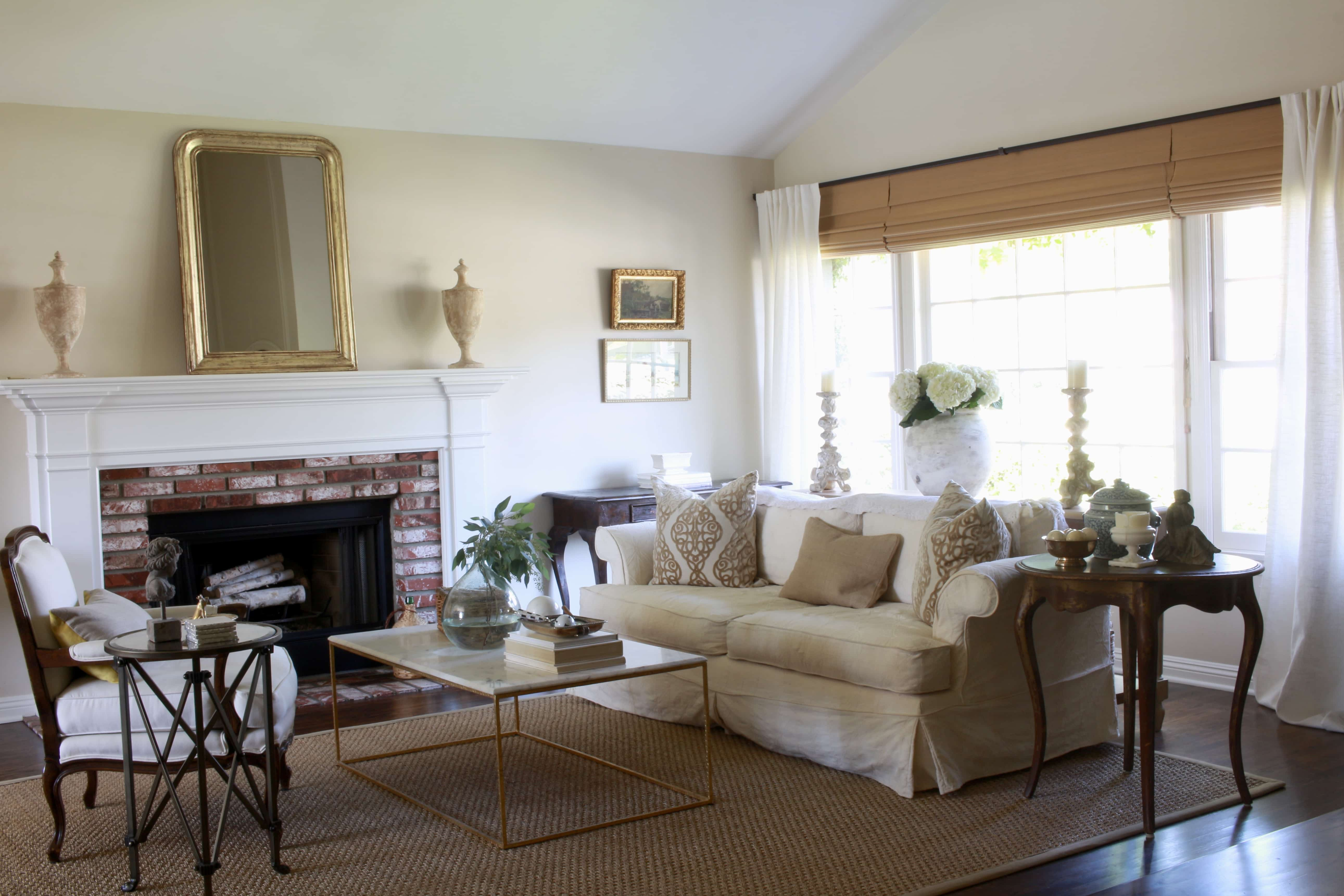 seagrass rugs gorgeous french influenced neutral living room - Seagrass Rug