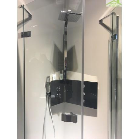 colonne de douche d angle mecanique ou thermostatique sint par novellini