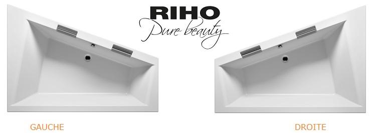 Grande Baignoire Dangle Acrylique RIHO DOPPIO 180x130 Cm