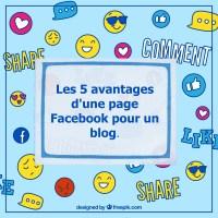 Les 5 avantages d'une page Facebook pour un blog