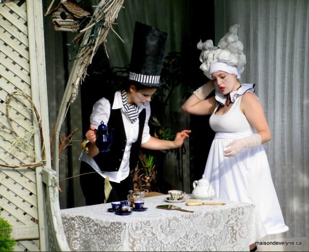 Tea party à la Chapelle