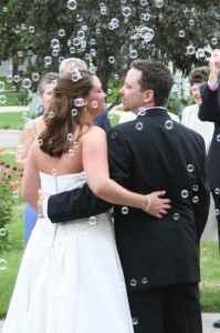 bubbles-wedding