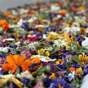 Confetti fleurs