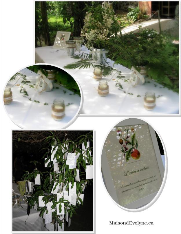FInes herbes table cadeau arbre a souhaits