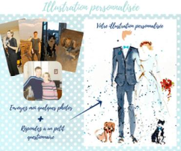 aquarelle-mariage-personnalise-illustration-faire-part-peinture-maries-romantique-amour