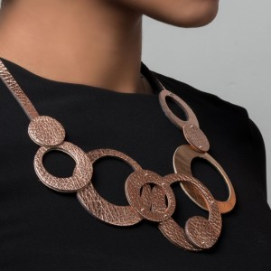 Collar Olivia Cobre