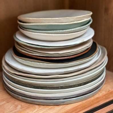 faire ses assiettes en céramique