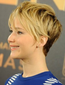 pixie-haircuts-2014-jennifer-lawrence-blonde-ombre-short-hair