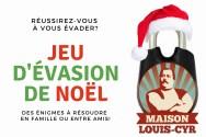 Bandeau site Web_Jeu d'évasion familial de Noël de la Maison Louis-Cyr