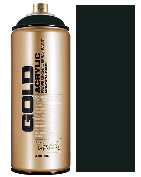 Montana Gold spuitbus Anthracite 400 ml