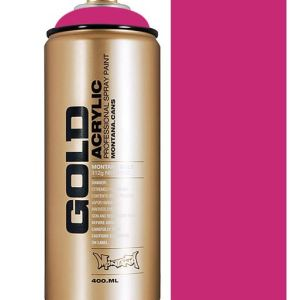 Montana Gold spuitbus Shock Pink 400 ml