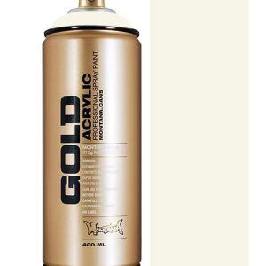 Montana Gold spuitbus Shock white Cream 400 ml
