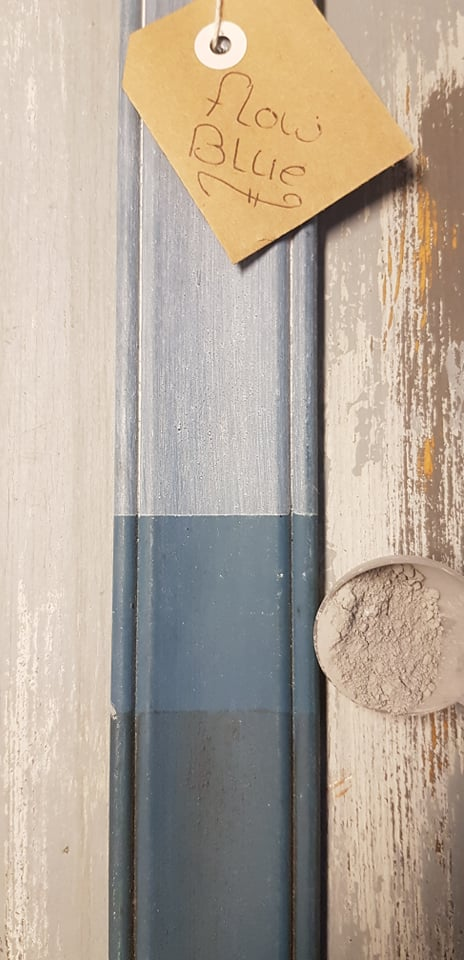 Flow blue Milk paint Miss mustard seed MaisonMansion