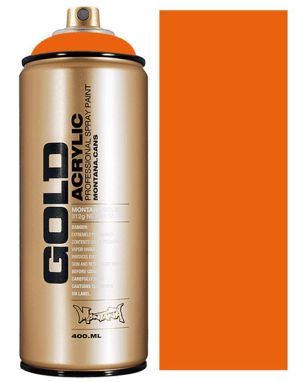 Montana Gold spuitbus Orange 400ml