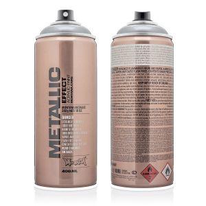 Montana Metallic Spuitbus Zilver 400 ml